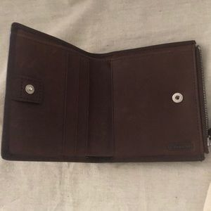 Coach Bags - Coach wallet, brown leather, like new.